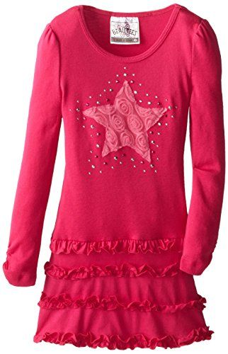 Beautees Little Girls' Tiered Tunic With Star, Hot Pink, 6x Beautees http://www.amazon.com/dp/B00KOL4WQS/ref=cm_sw_r_pi_dp_I.dtub0AHWN4D