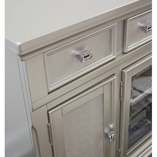 The Carlyle Desk From Ashley Furniture Homestore Afhs Com The Sleek Design Of The C Office Furniture Design Office Furniture Placement Home Office Furniture