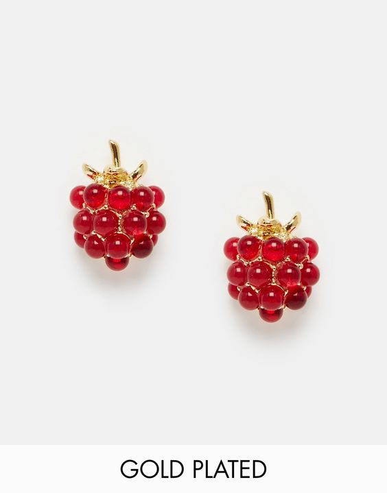 Image 1 - Bill Skinner - Wild Berry - Boucles d'oreilles étincelantes
