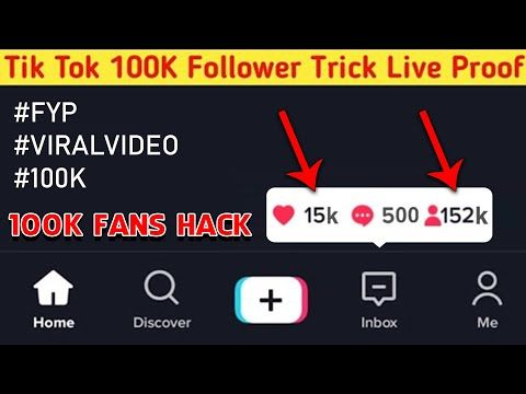 How To Increase Tik Tok Fans How Get Tik Tok Followers 100k Tik Tok Fans In 15 Days Live Proof Youtube Tik Tok How To Get Followers Tok