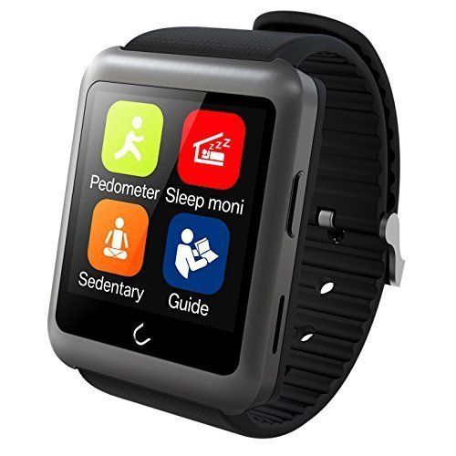 """Generic Bluetooth 4.0 Version Smart Watch 1.59 Inch HD LCD Wristwatch Support SIM for Smartphones Android and iOS System Color Gray. SIM card smart watch, the world's first SIM card slot and watch's body seperated design smart watch. The bluetooth version is latest 4.0 version. HD display: 1.59"""" inch TFT HD LCD, Resolution ratio: 320*320 pixel. Touch screen: Viewing angle IPS, HD curve capacitive LCD. Simple charging: Wear watches is easy, but charging always troubled. Thus we want to…"""
