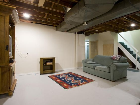 Basement Renovation Transforms A Cold Space Into A Warm