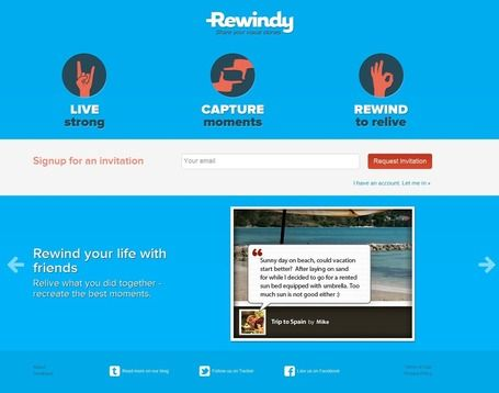 Create, Personalize And Share Your Visual Stories With Rewindy   Social Media Content Curation   Scoop.it