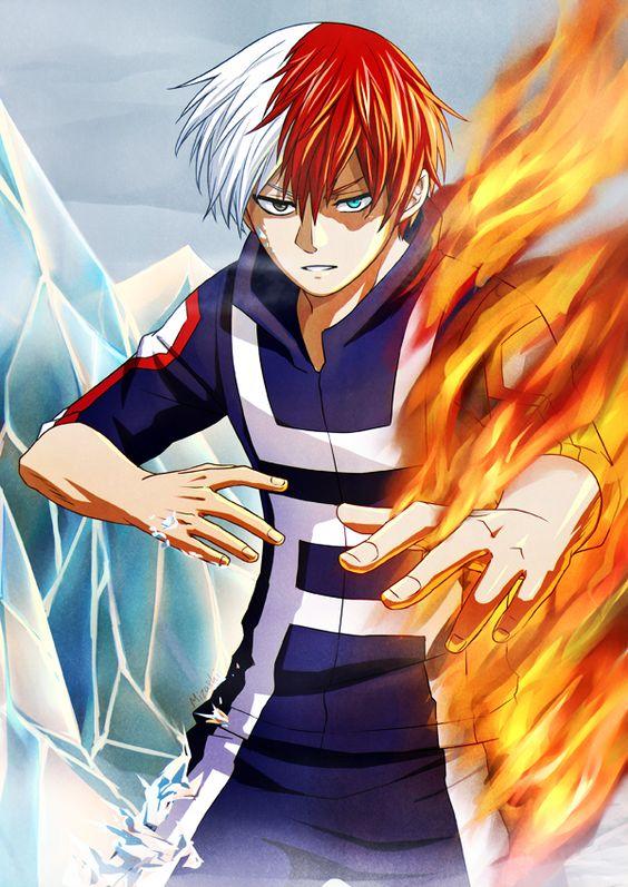 Boku no hero academia shouto todoroki boku no hero academia pinterest art my hero - Boku no hero academia shouto ...