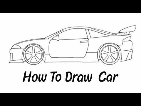 رسم سهل رسم سيارة سهلة طريقة رسم سيارة للأطفال تعليم الرسم رسم كيوت Youtube Car Drawings Simple Car Drawing Car Drawing Kids