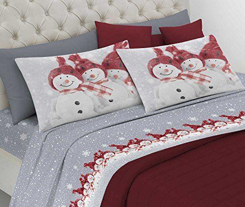 Lenzuola Matrimoniali Di Natale.Centesimo Web Shop Completo Lenzuola Letto In 2 Misure Pr Https