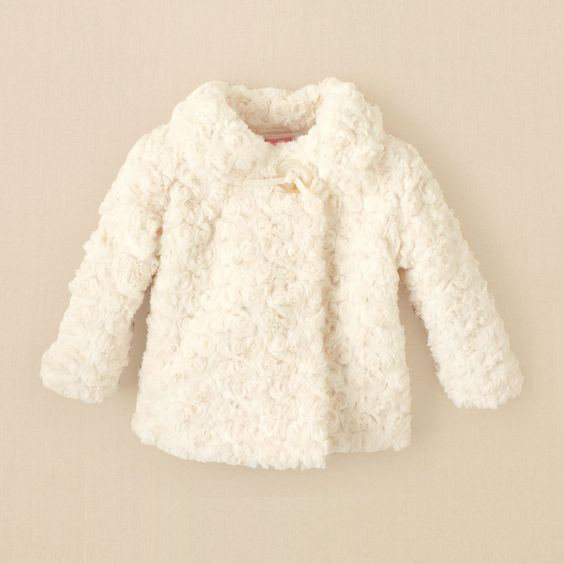 newborn - girls - jackets - faux-fur coat | Children&39s Clothing