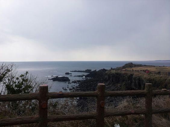 Jeju island in korea :)  Butiful view♥
