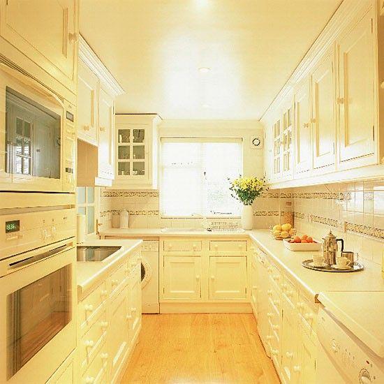 Küchen Küchenideen Küchengeräte Wohnideen Möbel Dekoration Decoration Living Idea Interiors home kitchen - Weiß Pantry-Küche