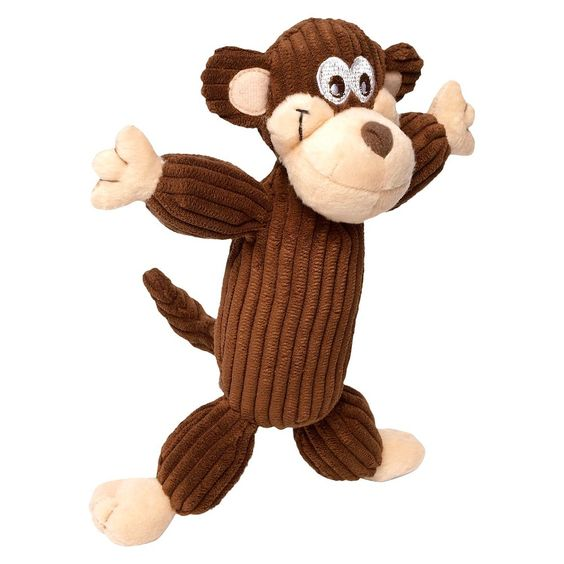 Charming Pet Corduroy Balloon Collection - Monkey (Brown)