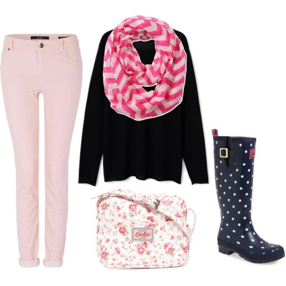 Pink outfits:
