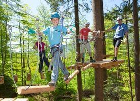 Rope Adventure Park in Goldingen. Another in Kloten: http://www.seilpark-zürich.ch