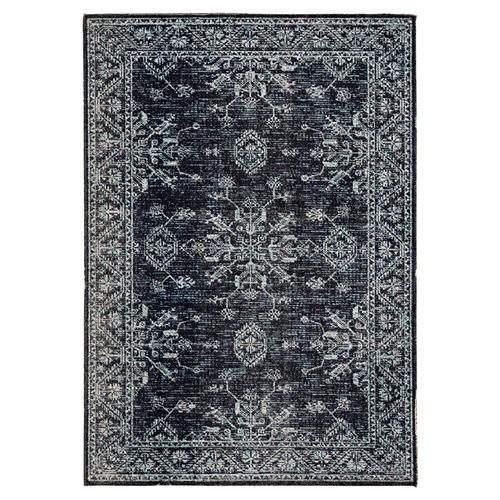 Mabel Modern Classic Black Blue Medallion Pattern Outdoor Rug 2 X3 Outdoor Rugs Patio Indoor Outdoor Rugs Outdoor Rugs