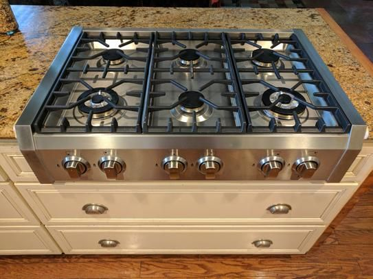 User Submitted Photo Kitchen Cooktop Modern Kitchen Pantry Gas