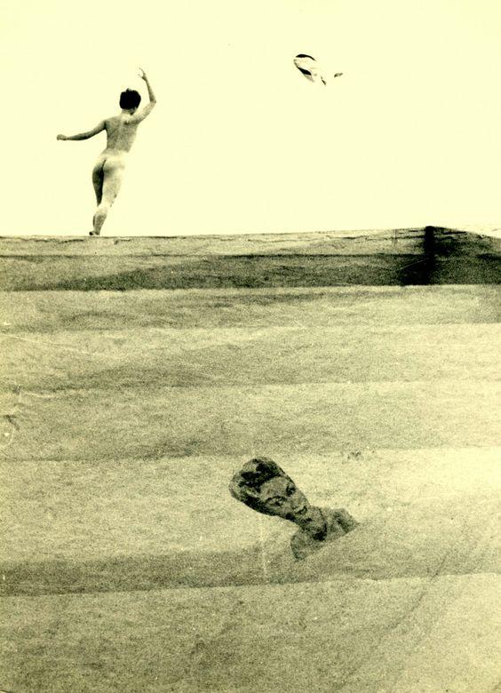 Sayonara, 1964 .   Kansuke Yamamoto, ©Toshio Yamamoto. This was published in the Asahi Newspapr on 10 May 1964.