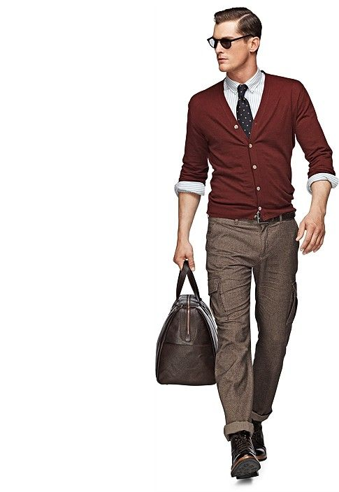 Light Brown Cargo Pants B307i | Suitsupply Online Store | Fashion ...