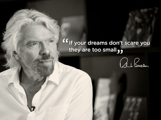 YES, MY DREAMS DOES SCARE ME! THAT'S WHY I HAVE CREATED THE #MICHAELJAZZ FEEL GOOD PROJECT! OUR DARING MISSION POSSIBLE! READ MORE: http://www.michaeljazzonline.com/crowdsourcing                The bigger the dream, the greater the opportunity - Virgin.com