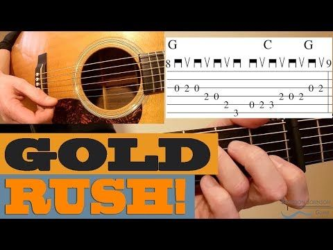 Gold Rush Tony Rice Bluegrass Guitar Lesson With Tab Youtube Guitar Lessons Guitar Music Theory Guitar