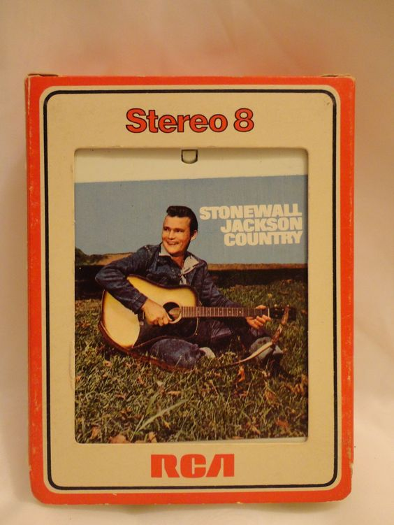 Stonewall Jackson Country 8 track  FREE Domestic Shipping