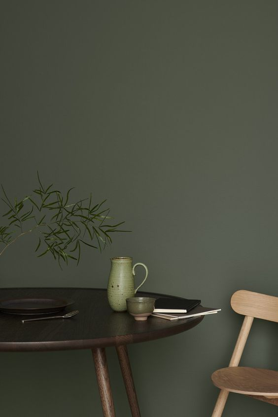 Colour crush: green interior inspiration