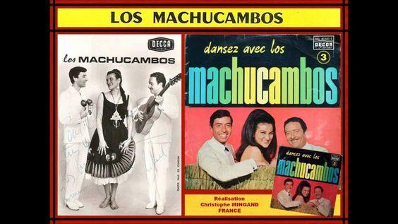 MARIA ELENA - LOS MACHUCAMBOS - LP DANSEZ AVEC LOS MACHUCAMBOS N°3