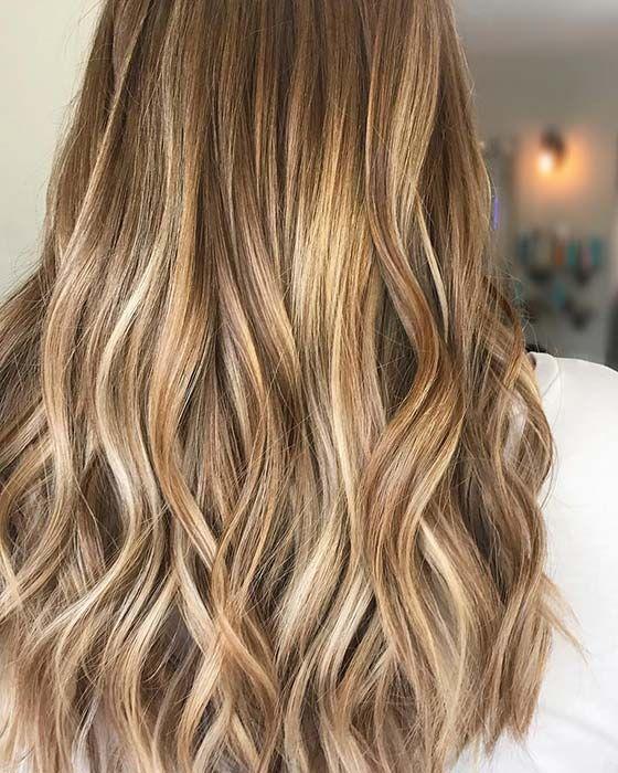 23 Best Caramel Highlights Ideas For 2019 Stayglam Golden Highlights Brown Hair Blonde Highlights On Dark Hair Dark Blonde Hair