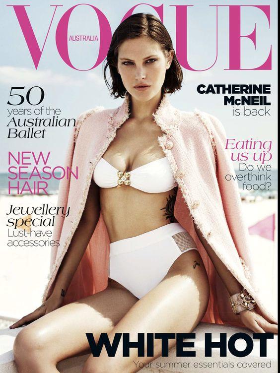 Catherine McNeil - Vogue November 2012