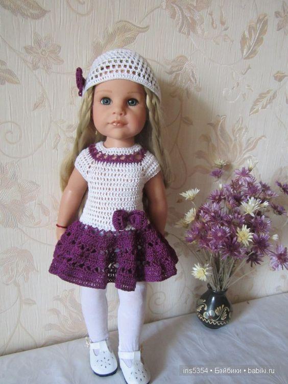 Платье к празднику. Одежда для кукол Готц / Одежда и обувь для кукол - своими руками и не только / Бэйбики. Куклы фото. Одежда для кукол: