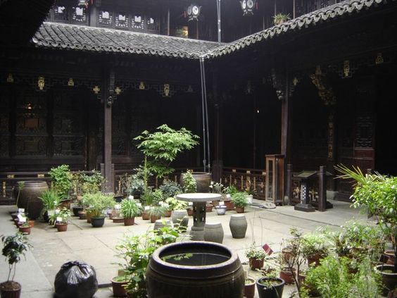 Image result for Chinese Courtyard
