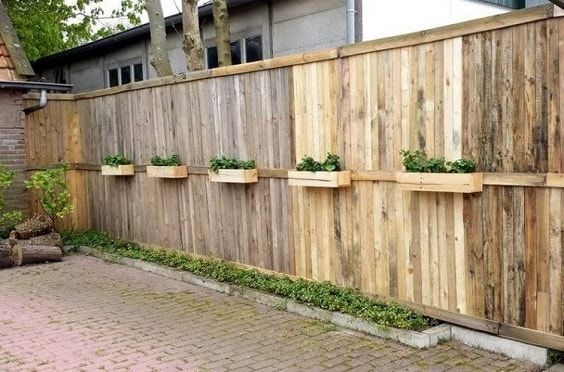 30 Most Inspiring Diy Pallet Garden Fence Ideas To Improve Your