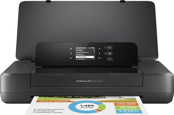 Deal Of The Day 67 Off This Refurbished Hp Envy 4500 Wireless Color Photo Printer Http Www Pinchingyourpennies Com Printer Hp Printer Wireless Printer