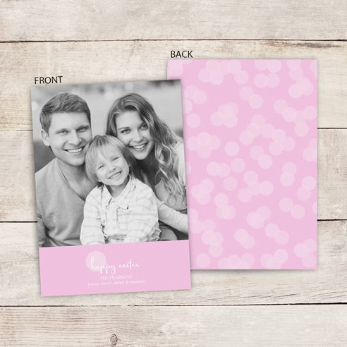 Send Easter wishes with a custom photo greeting card.
