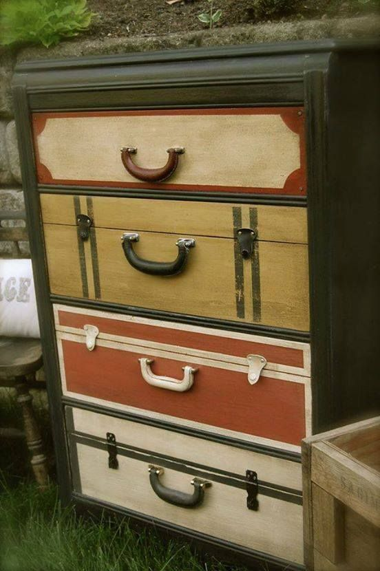 Love This Chest Of Drawers Made To Look Like Stacked
