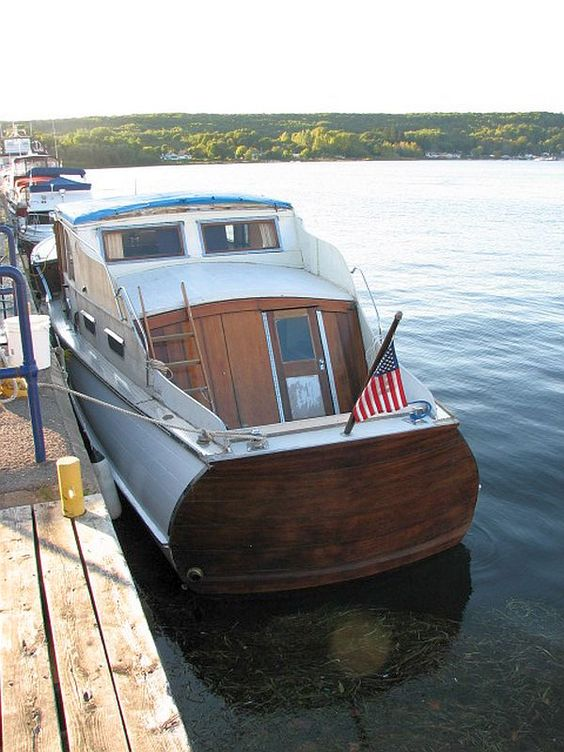 1940's Chris Craft, only $5K! With Valentine's Day coming up...I think this is the perfect gift for this gal!