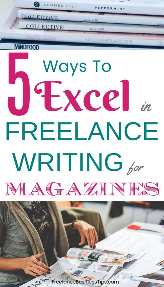Freelance writing for magazines is a very rewarding and fun career! Here are five ways to smash writing for magazines for profit... #freelancewriting #magazinewriting