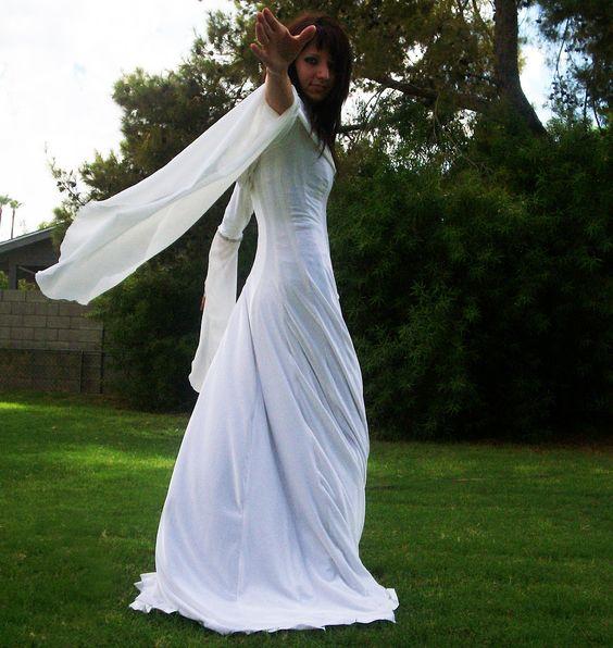 Kahlan Amnell Confessor Dress Cosplay (Legend of the Seeker). $220.00, via Etsy.