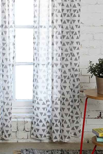 Magical Thinking Triangle Curtain Urban Outfitters Triangles And Curtains