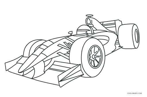 Printable Formula 1 Coloring Cars Coloring Pages Coloring Pages Sports Coloring Pages