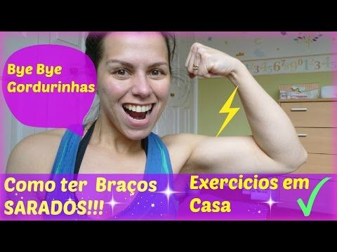 Exercícios para braço feminino, bíceps, tríceps - Aula 1 - YouTube
