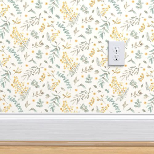 Australian Flora Small Scale Wattle And Wallpaper Custom Wallpaper Perfect Wallpaper