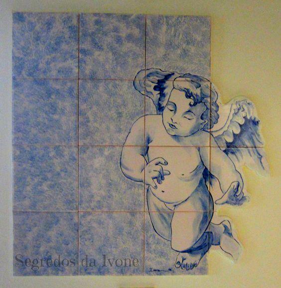 PA6- Painel pintado em azulejo com recorte