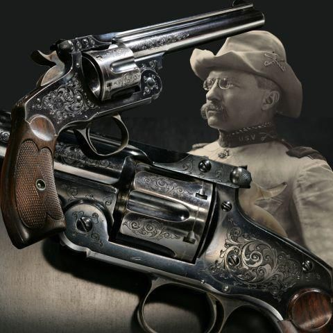 Defensive Driving San Antonio >> THEODORE ROOSEVELT'S SMITH AND WESSON NEW MODEL NO. 3 REVOLVER: This revolver is attributed by ...