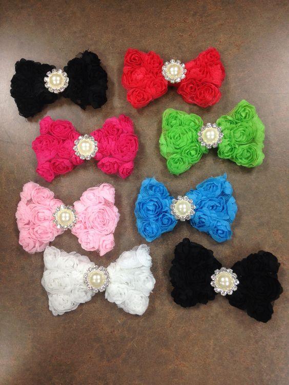 $5 flower bows