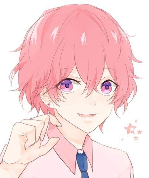 Beautiful Kawaii Pink Hair Anime Cute Anime Guys Kawaii Anime