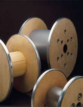 I want to use a really big wire reel for our coffee table and cover it with a piece of cut tempered glass
