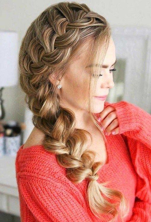51 French Braid Hairstyles For Women 2019 Fonott Haj Haj Fenykep