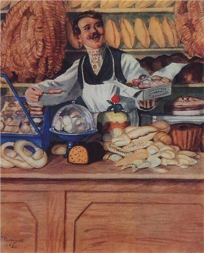 Baker - Boris Kustodiev