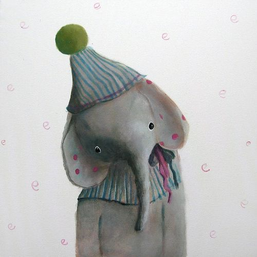 By Polish artist  Amelia Haniszewska-Jastrz?bska,: