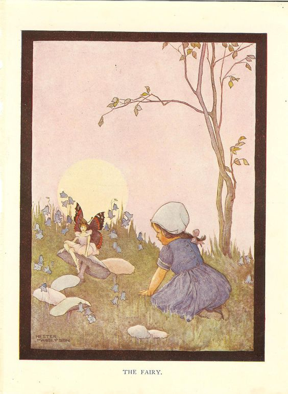 Vintage Hester Margetson book illustration, via Etsy
