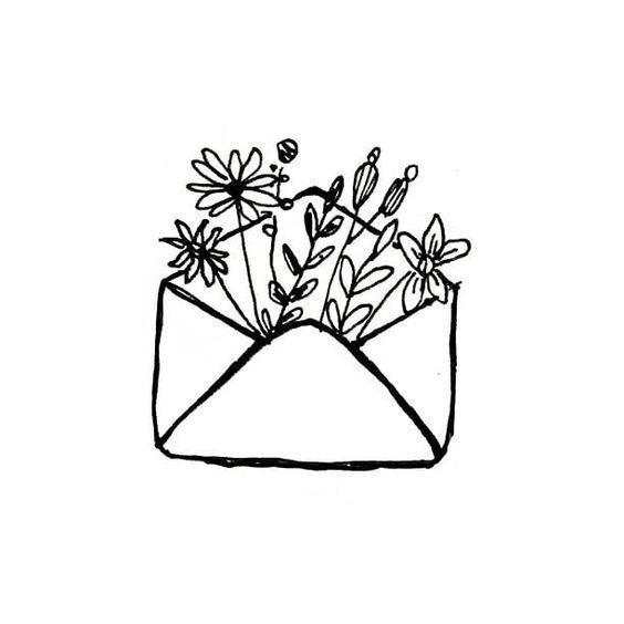 35 Cool Easy Whimsical Drawing Ideas Flower Doodles Easy